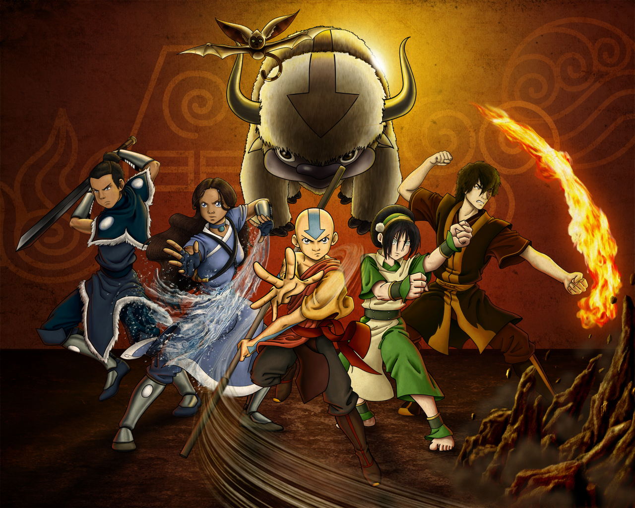 Remarkable, useful Avatar the last airbender fan characters everything